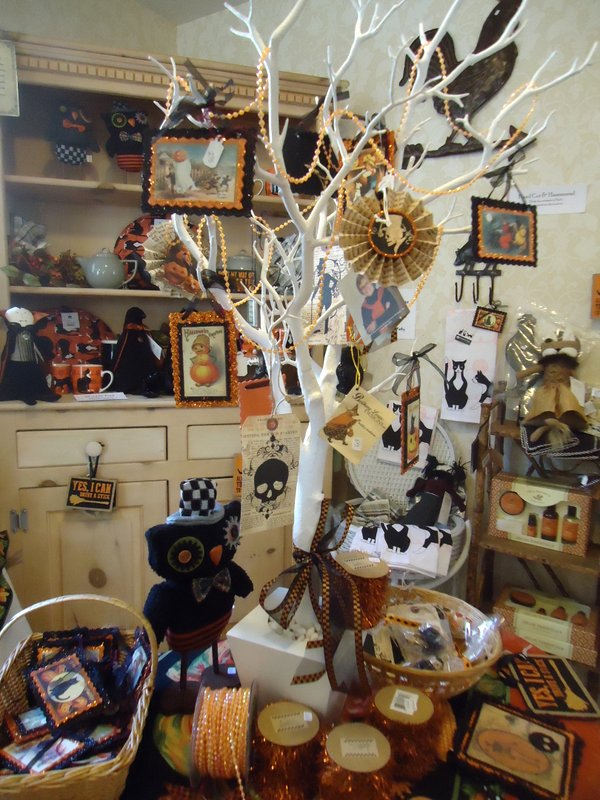 our halloween corner is filled with collectible favorites from bethany lowe primitives by kathy and - Primitives By Kathy Halloween