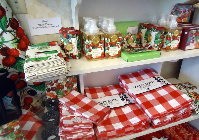 Crisp red checked tablecloths for kitchen, patio or toss it into the picnic basket. Old style? You bet! By NOW Design. Sturdy- you'll this for MANY summers!
