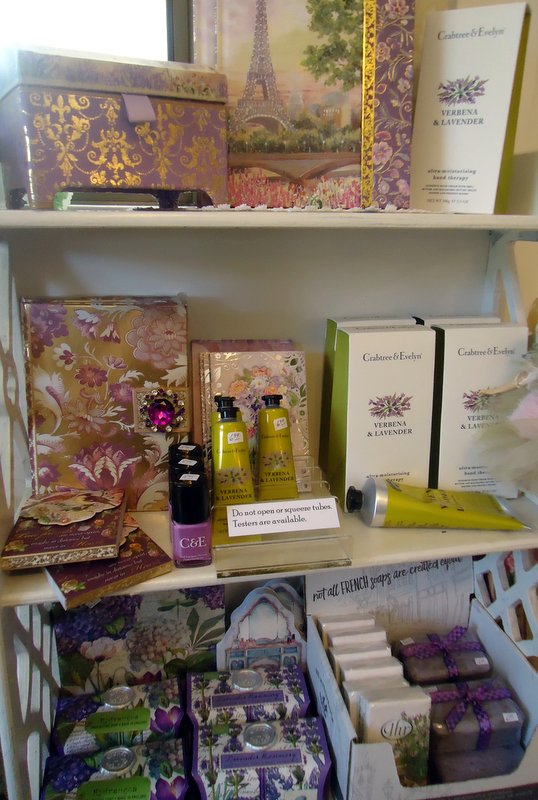 Traditional 'with a twist'!  Crabtree & Evelyn's Hand Therapy Cream in Verbena & Lavender - perfect for warm weather.