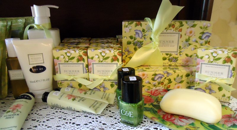 Summerhill by Crabtree & Evelyn combines the fragrances of an English garden.