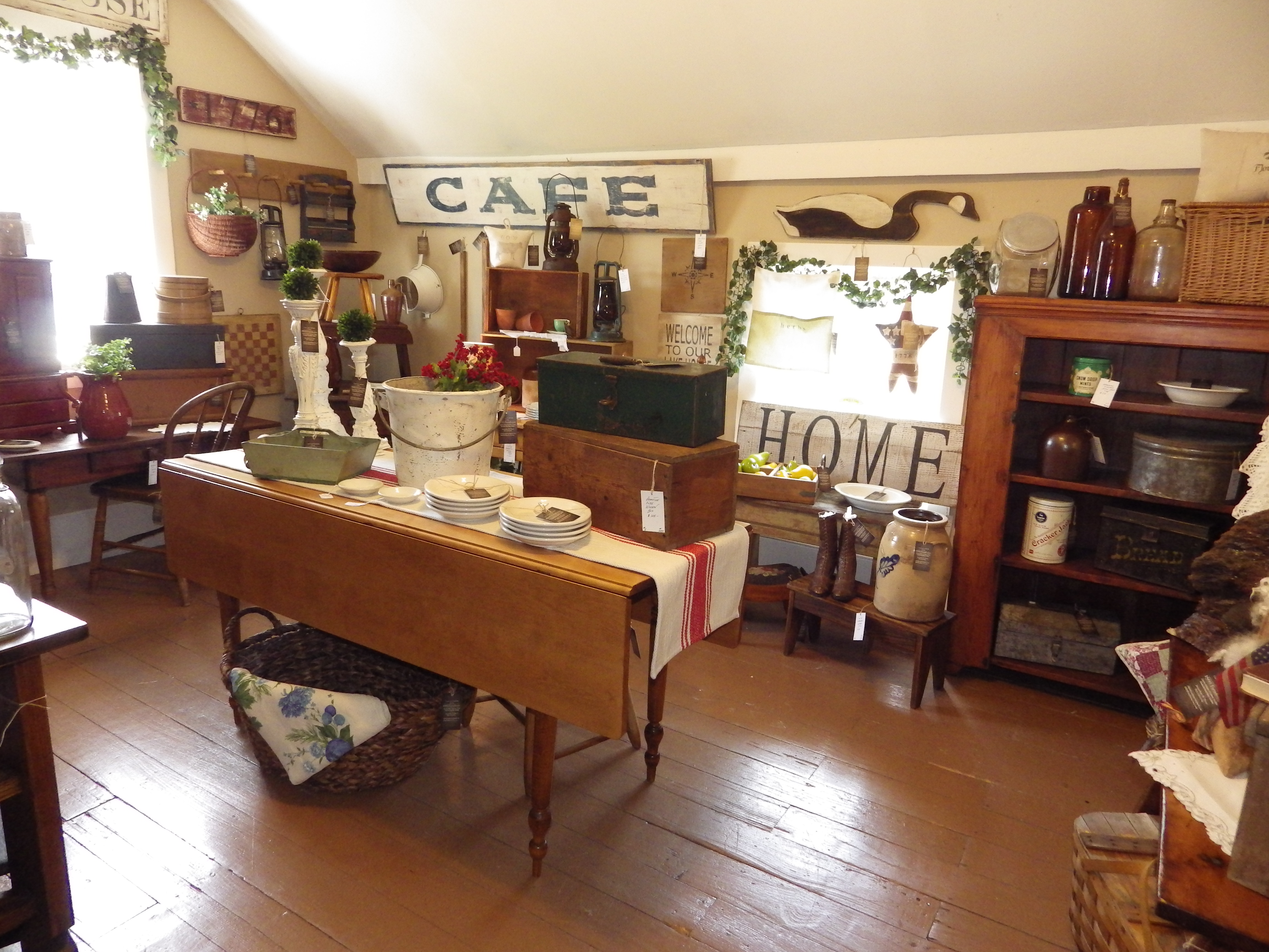Furniture, country kitchen and great vintage accents are part of 1860 Farmhouse.