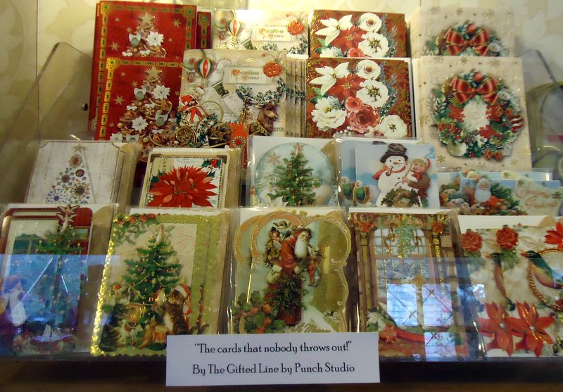 It's time to think about cards while you have plenty of time to enjoy preparing them for the post.  Our Punch Studio cards are the best!